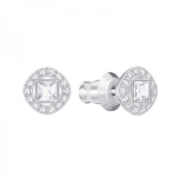 Buy Swarovski Women's Earrings Angelic Square 5368146