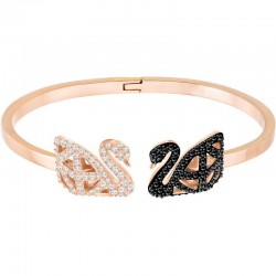 Buy Swarovski Women's Bracelet Facet Swan L 5372918