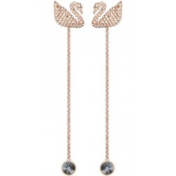 Swarovski Women's Earrings Iconic Swan 5373164
