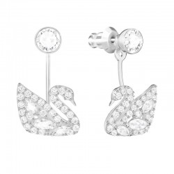 Buy Swarovski Women's Earrings Jackets Swan Lake 5379944