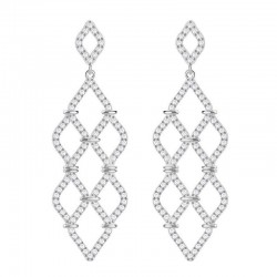 Buy Swarovski Women's Earrings Chandelier Lace 5382358