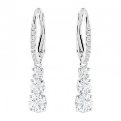 Buy Swarovski Women's Earrings Attract Trilogy Round 5416155