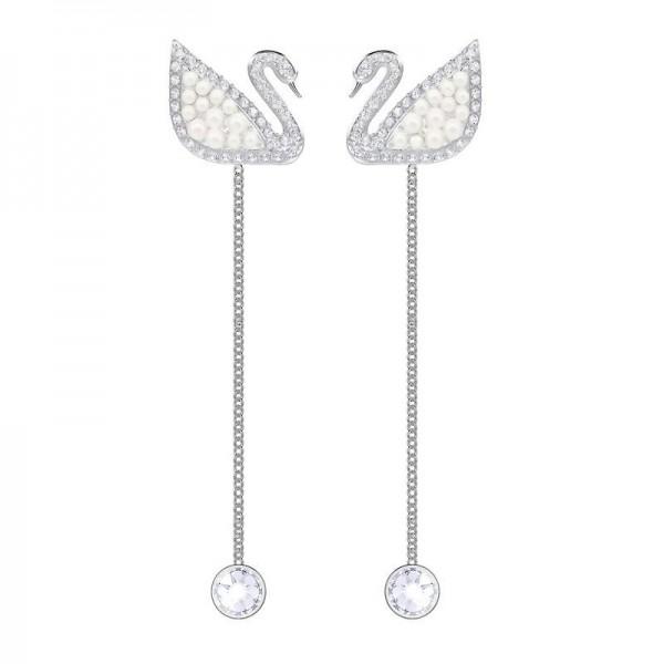 Buy Swarovski Women's Earrings Iconic Swan 5429270