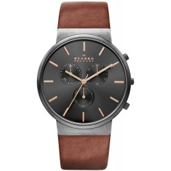Buy Skagen Men's Watch Ancher Chronograph SKW6106