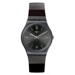 Swatch Unisex Watch Gent Blackeralda GB430