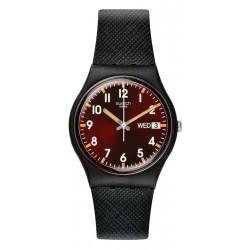 Swatch Unisex Watch Gent Sir Red GB753