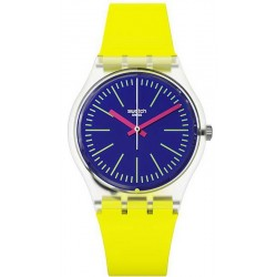 Buy Swatch Unisex Watch Gent Accecante GE255
