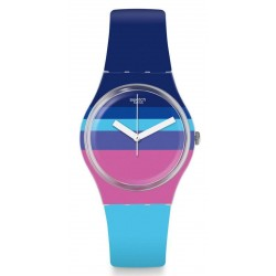 Buy Swatch Women's Watch Gent Azul'Heure GE260