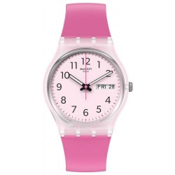 Swatch Women's Watch Gent Rinse Repeat Pink GE724