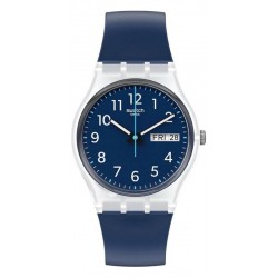Swatch Unisex Watch Gent Rinse Repeat Navy GE725