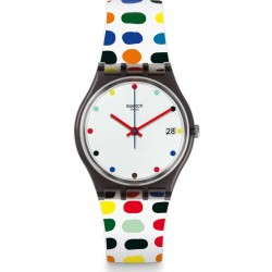 Swatch Women's Watch Gent Milkolor GM417