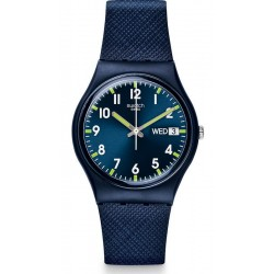 Swatch Unisex Watch Gent Sir Blue GN718