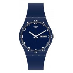 Swatch Unisex Watch Gent Over Blue GN726