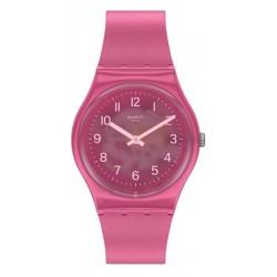 Swatch Women's Watch Gent Blurry Pink GP170