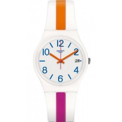 Swatch Women's Watch Gent Pinkline GW408
