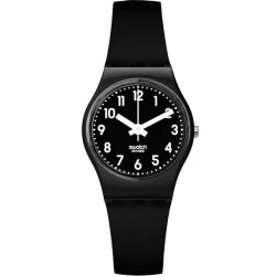 Swatch Women's Watch Lady Black Single LB170E