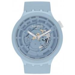 Swatch Watch Big Bold C-Blue SB03N100