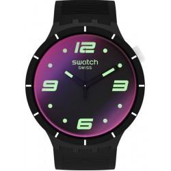 Swatch Watch Big Bold Futuristic Black SO27B119