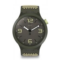 Buy Swatch Men's Watch Big Bold BBBlanco SO27M102