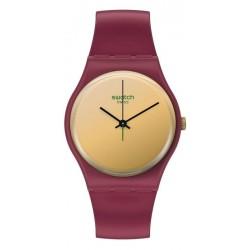 Swatch Women's Watch Gent Goldenshijian SO28R102