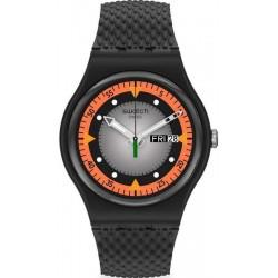 Swatch Men's Watch New Gent Gray Blend SO29B701