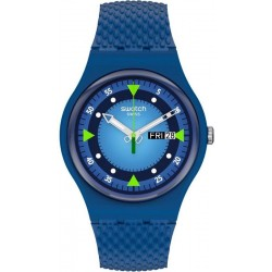 Swatch Unisex Watch New Gent Blue Blend SO29N701