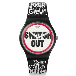 Buy Swatch Unisex Watch New Gent Swatch Out SUOB160