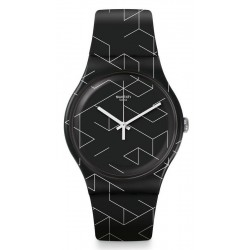 Buy Swatch Unisex Watch New Gent Cnosso SUOB161
