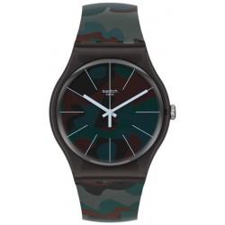 Swatch Unisex Watch New Gent Camoucity SUOB175