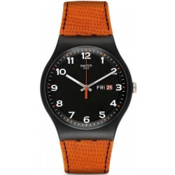 Swatch Men's Watch New Gent Faux Fox SUOB709