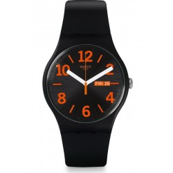 Swatch Unisex Watch New Gent Orangio SUOB723
