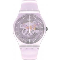 Swatch Women's Watch New Gent Pink Mist SUOK155
