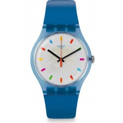 Swatch Unisex Watch New Gent Color Square SUON125