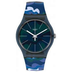 Swatch Unisex Watch New Gent Camouclouds SUON140