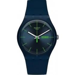 Swatch Unisex Watch New Gent Blue Rebel SUON700