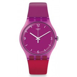 Buy Swatch Women's Watch New Gent Cherryberry SUOV104