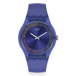 Swatch Women's Watch New Gent Purple Rings SUOV106