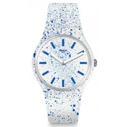 Swatch Women's Watch New Gent Fuzzy Logic SUOW160