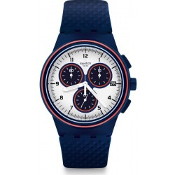 Swatch Men's Watch Chrono Plastic Parabordo SUSN412