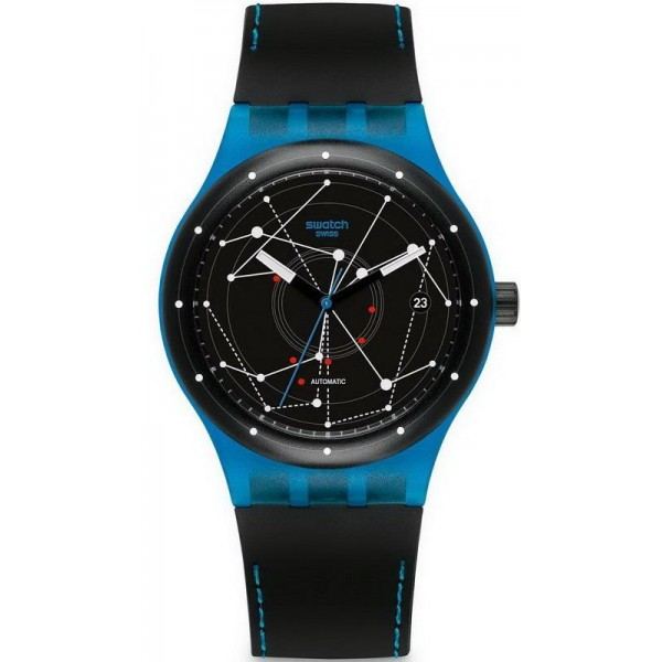 Buy Swatch Unisex Watch Sistem51 Sistem Blue Automatic SUTS401