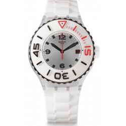 Swatch Unisex Watch Scuba Libre Blanca SUUK401
