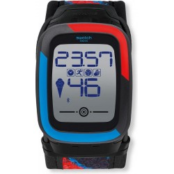 Buy Swatch Men's Watch Digital Touch Zero One Funkzero SUVB101
