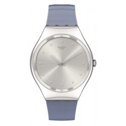 Swatch Women's Watch Skin Irony Blue Moire SYXS134