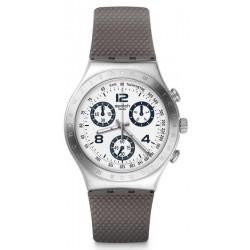 Swatch Unisex Watch Irony Chrono Classylicious YCS113C