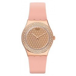 Swatch Women's Watch Irony Medium Pink Confusion YLG140