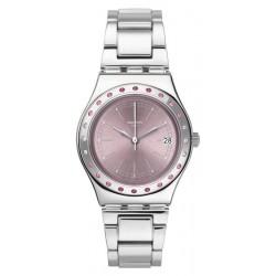 Swatch Women's Watch Irony Medium Pinkaround YLS455G