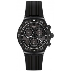 Swatch Men's Watch Irony Chrono Teckno Black YVB409