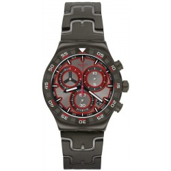 Swatch Men's Watch Irony Chrono Crazy Drive YVM406G