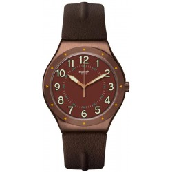Swatch Men's Watch Irony Big Classic Copper Time YWC100