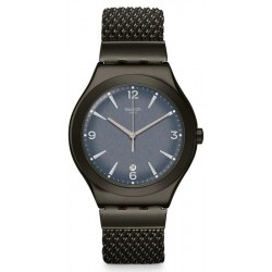 Swatch Men's Watch Irony Big Classic Mesh O'Light YWM403M